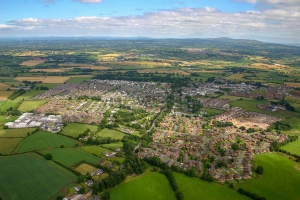 aerial view of Moira county Down