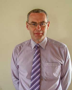 Damian Coll (Deputy Designated Person (Safeguarding) at Moira Baptist