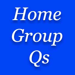 Home group Questions at Moira Baptist
