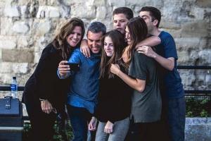 Young adults at Moira Baptist