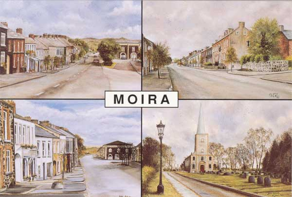 Moira Village, County Down