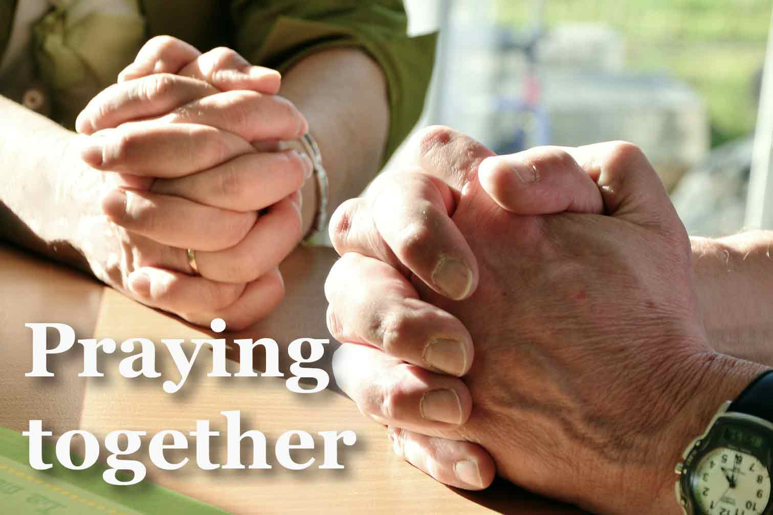 Prayer at Moira Baptist
